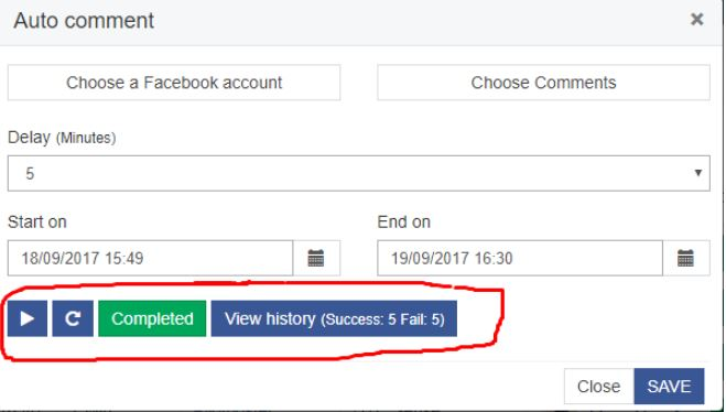 How to Setup Facebook Auto Comment on FBGAPP 3