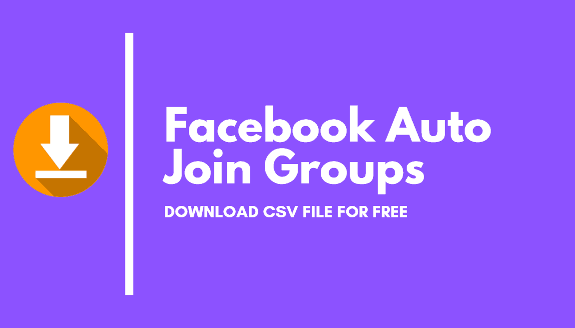 Download Facebook Groups Directories in CSV | FB Auto Join