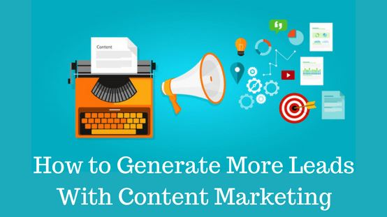 generate leads using content marketing